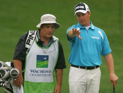 Caddy Bobby Conlin helped Ted Purdy earn his 2009 PGA Tour Card.